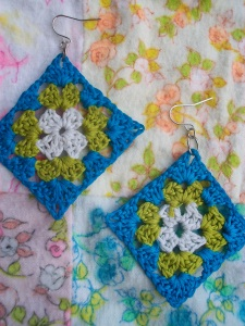 my Microchet earrings!